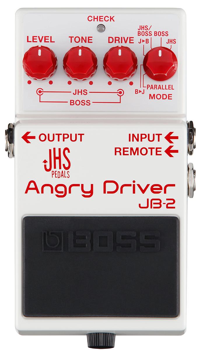 BOSS JB-2 Angry Driver 新品 オーバードライブ[ボス][JHS][ブルースドライバー][アングリーチャーリー][アングリードライバー][Effector,エフェクター][JB2]