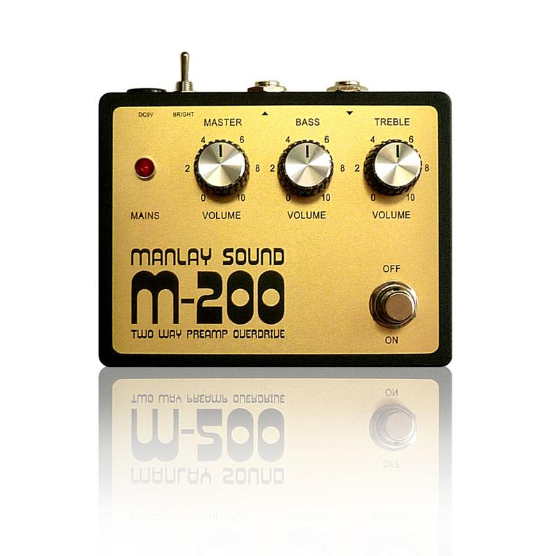 Manlay Sound M-200 新品 プリアンプ[マンレイサウンド][The Pig][Equalizer,イコライザー][Effector,エフェクター]
