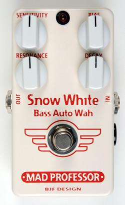 【感謝価格】 MAD PROFESSOR Snow White Wah Bass Auto Snow Wah White 新品 ベース用オートワウ [マッドプロフェッサー][スノーホワイト][Auto Wah][Effector,エフェクター], 岩国市:0ea1a816 --- canoncity.azurewebsites.net
