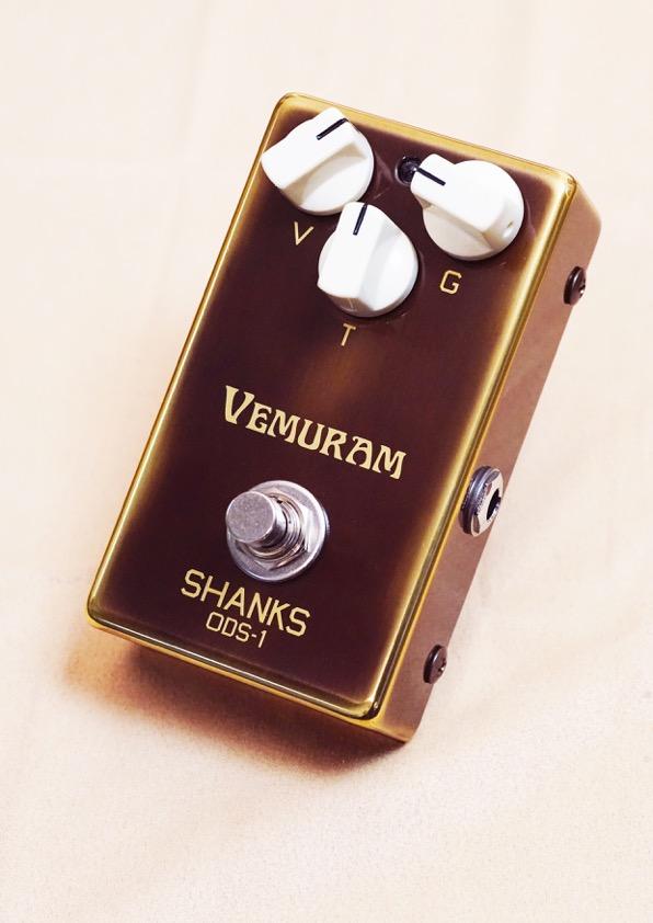 VEMURAM SHANKS ODS-1 新品 オーバードライブ[ベムラム][シャンクス][Effector,エフェクター]