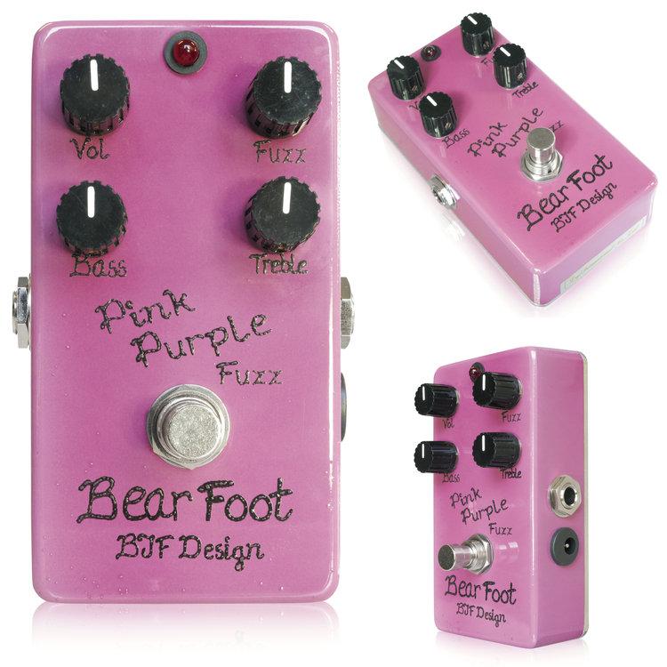 Bear Foot Pink Purple Fuzz 新品[ピンクパープル][ファズ][Effector,エフェクター]