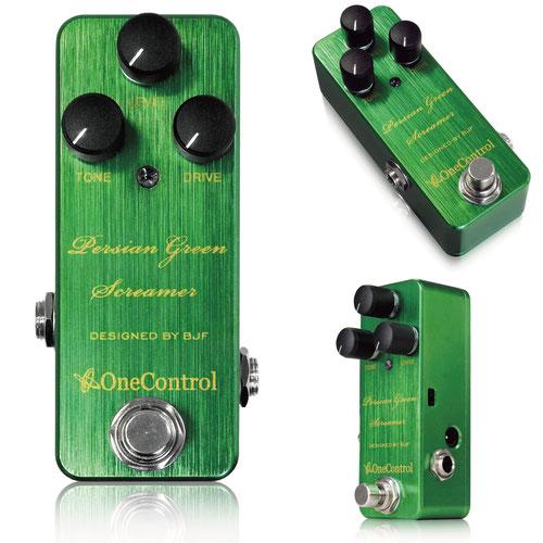 One Control Persian Green Screamer 新品 オーバードライブ[ワンコントロール][グリーンスクリーマー][TS系][Overdrive][Effector,エフェクター]