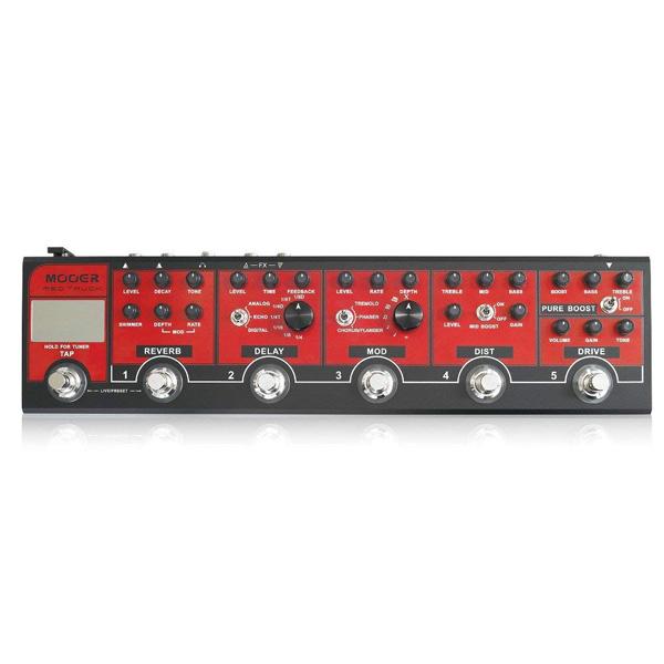 Mooer RED TRUCK 新品[ムーア][マルチエフェクター][Effector,エフェクター]