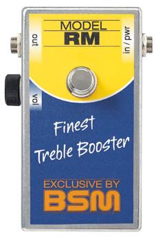 BSM RM 新品 トレブル・ブースター[Range Master,レンジマスター][Effector,エフェクター]