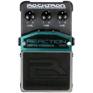 Rocktron Reaction Super Charger 新品 オーバードライブ[ロックトロン][リアクション][スーパーチャージャー][Overdrive][Effector,エフェクター]