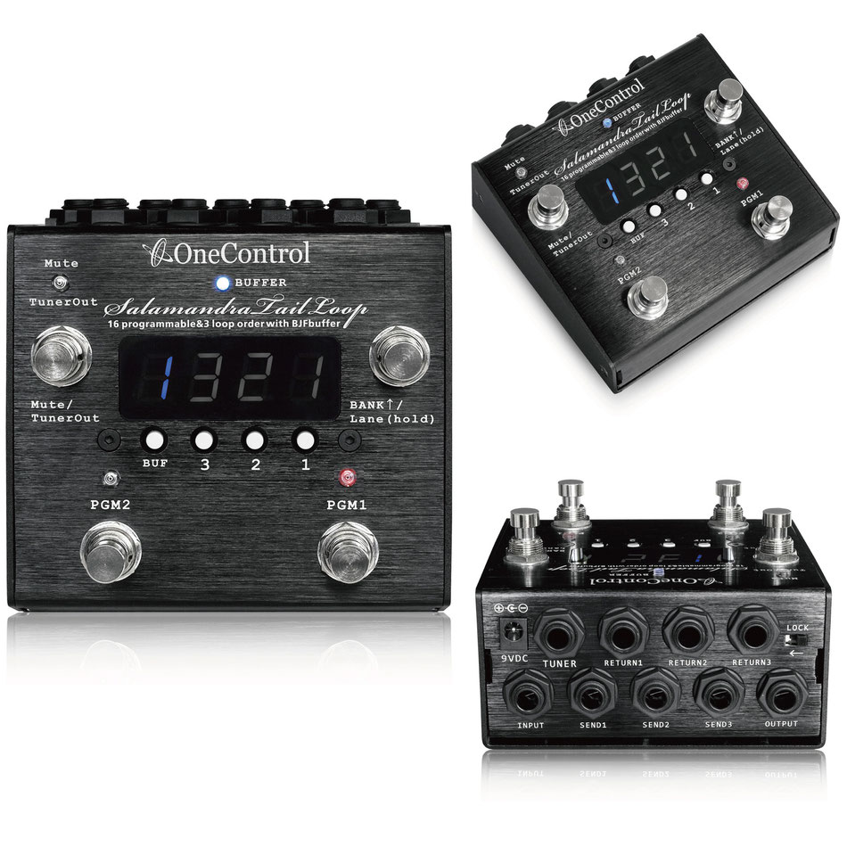 One Control Salamandra Tail Loop -3LOOP with Tuner Out- 新品 スイッチャー [ワンコントロール][サラマンダー][Switcher][Effector,エフェクター]
