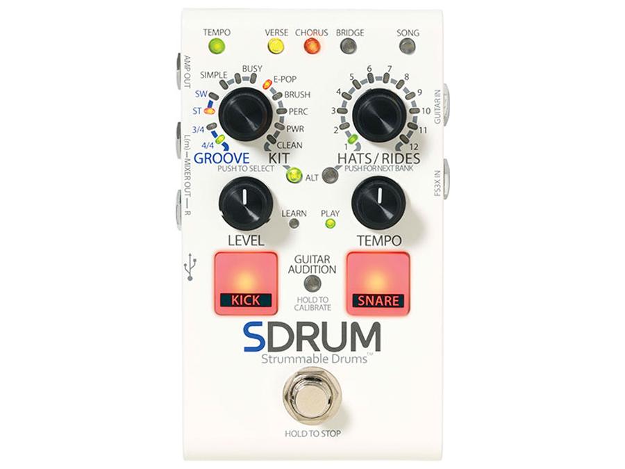 Digitech Strummable Drums SDRUM 新品[デジテック][スドラム][ドラムマシン,リズムマシン][Effector,エフェクター]