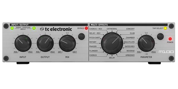 t.c.electronic M100 新品 ステレオマルチエフェクトプロセッサー[TCエレクトロニック][空間系,モジュレーション][Multi Effector]
