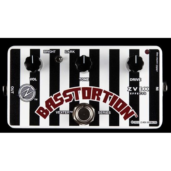 Z.VEX Basstortion 新品 Vexter Series[ジーベックス,ゼットベックス][ベーストーション][Overdrive,オーバードライブ][Distortion,ディストーション][ベクスターシリーズ][Effector,エフェクター]
