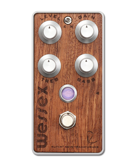 Bogner WESSEX / The Studio Series Bubinga exotic hardwood top panel 新品 オーバードライブ[ボグナー][Overdrive][Effector,エフェクター]