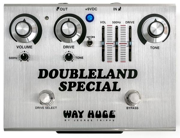 WAY HUGE WHE212 DOUBLELAND SPECIAL 新品 オーバードライブ[ウェイヒュージ][ダブルランドスペシャル][WHE-212][Overdrive][Effector,エフェクター]