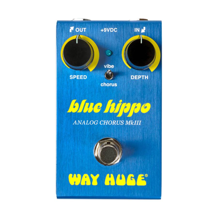 WAY HUGE WM61 MINI BLUE HIPPO 新品[ウェイヒュージ][ミニ][ブルーヒッポ][Analog Chorus,アナログコーラス][Effector,エフェクター]