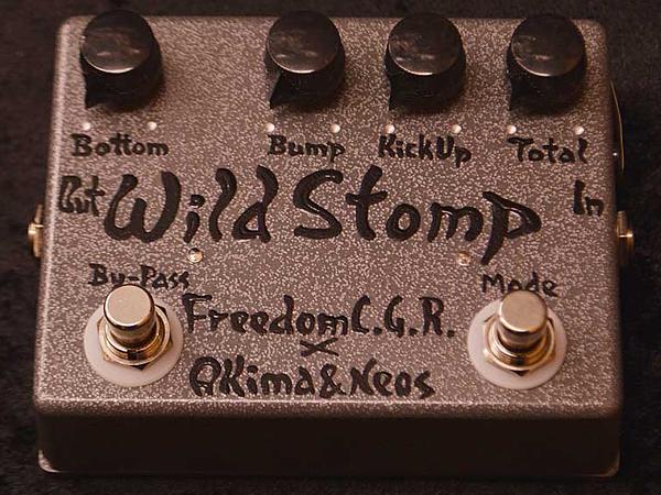【送料無料/新品】 Freedom CUSTOM CUSTOM GUITAR RESEARCH Wild Stomp Pre Silver- -Bump Silver- 新品 ベース用プリアンプ [フリーダム][国産][ワイルドストンプ][シルバー,銀][Bass Pre Amplifier][Effector,エフェクター], フジゴルフ:a192fc84 --- promilahcn.com