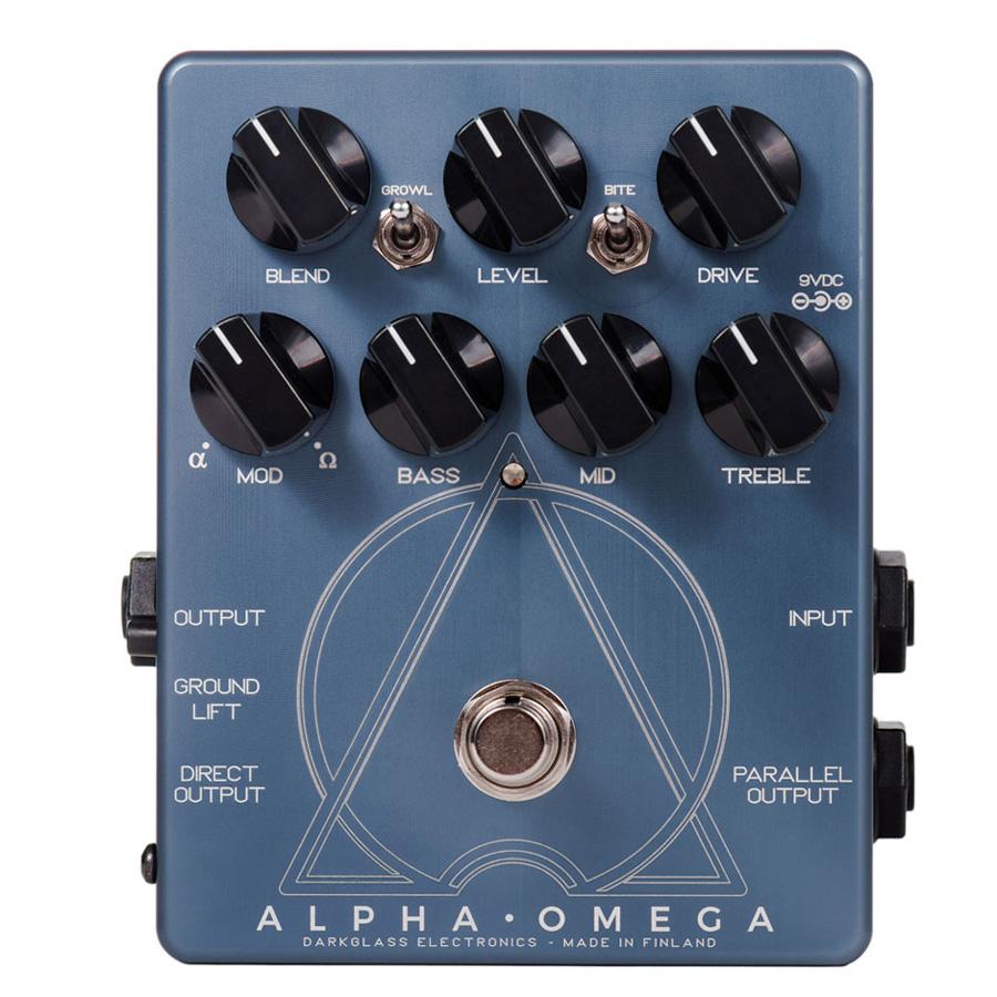 Darkglass Electronics Alpha Omega 新品 ベース用ディストーション[ダークグラスエレクトロニクス][アルファオメガ][Bass Distortion][Effector,エフェクター]