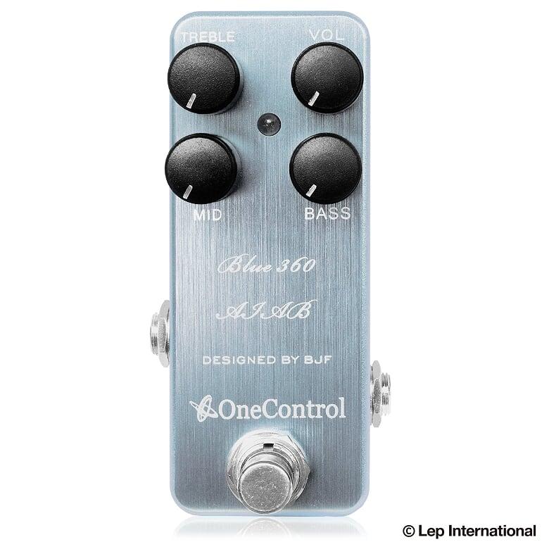 One Control Blue 360 AIAB 新品[ワンコントロール][ブルー,青][ベースプリアンプ][Effector,エフェクター]