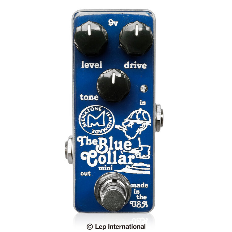 Menatone Blue Collar Mini 新品 オーバードライブ [メナトーン][ブルーカラーミニ][Overdrive][Effector,エフェクター]