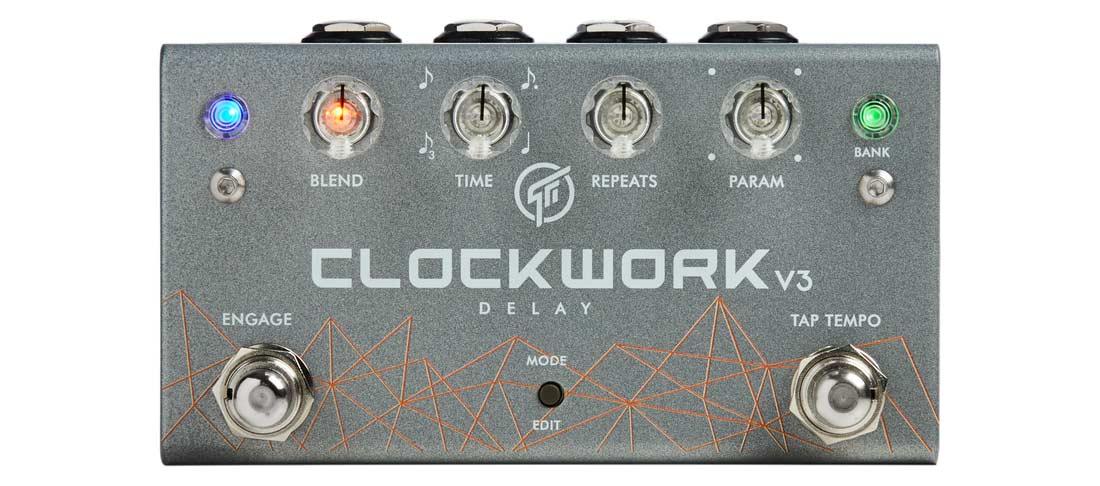 GFI SYSTEM CLOCKWORK DELAY V3 新品 ステレオディレイ[クロックワークディレイ][Delay][Effector,エフェクター]