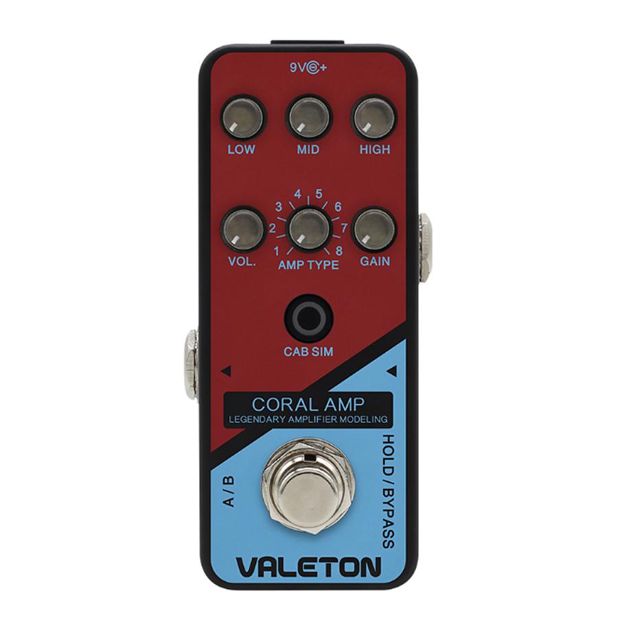 VALETON CORAL AMP 新品 アンプシミュレーター[ヴェイルトン][Amp Simulator][エフェクター,Effector]