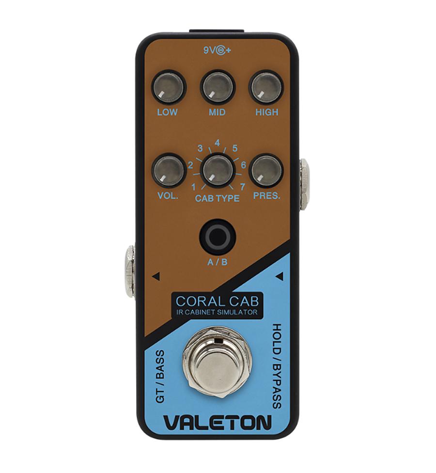 VALETON CORAL CAB 新品キャビネット シミュレーター[ヴェイルトン][コーラルキャブ][Cabinet Simulator][Effector,エフェクター]
