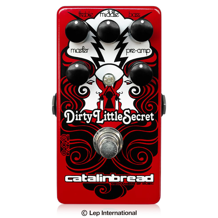 Catalinbread Dirty Little Secret Red  新品 オーバードライブ/ディストーション[カタリンブレッド][ダーティリトルシークレットレッド][Overdrive,Distortion][Effector,エフェクター]