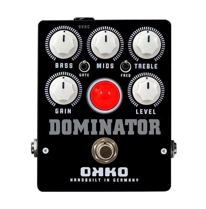 OKKO DOMINATOR MK2 BLACK 新品 ディストーション[オッコ][ドミネーター][ブラック][Distortion][Effector,エフェクター]
