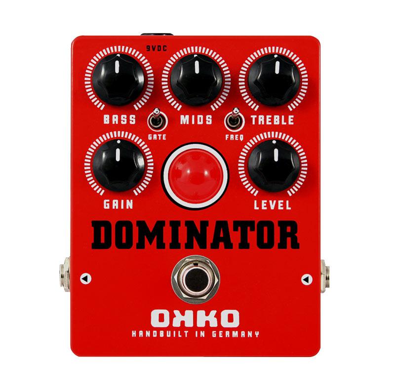 OKKO DOMINATOR MK2 RED 新品 ディストーション[オッコ][ドミネーター][レッド][Distortion][Effector,エフェクター]