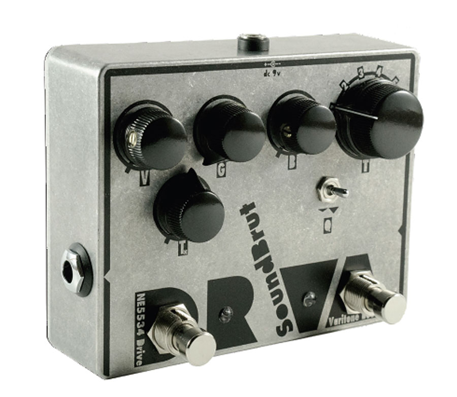 Sound Brut DRVA Mk.II 新品 オーバードライブ/ブースター[サウンドブリュット][Overdrive,Booster][Effector,エフェクター]