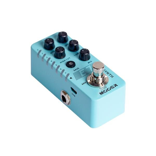 Mooer E7 新品 ギターシンセサイザー[ムーアー][Guitar Synthesizer][Effector,エフェクター]