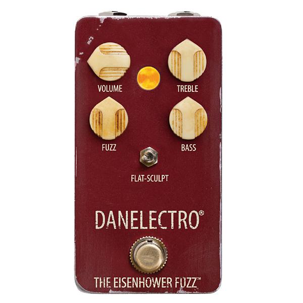 DANELECTRO EF-1 THE EISENHOWER FUZZ 新品 ファズ[ダンエレクトロ][アイゼンハワー][Octave Fuzz][Effector,エフェクター]