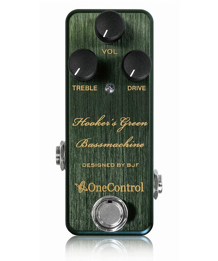 数量は多い  One Control Green Hooker's Control Green Bass Machine Machine 新品[ワンコントロール][オーバードライブ][グリーン、緑][Effector,エフェクター], くまたんの店:563ad8e4 --- hi-tech-automotive-repair.demosites.myshopmanager.com