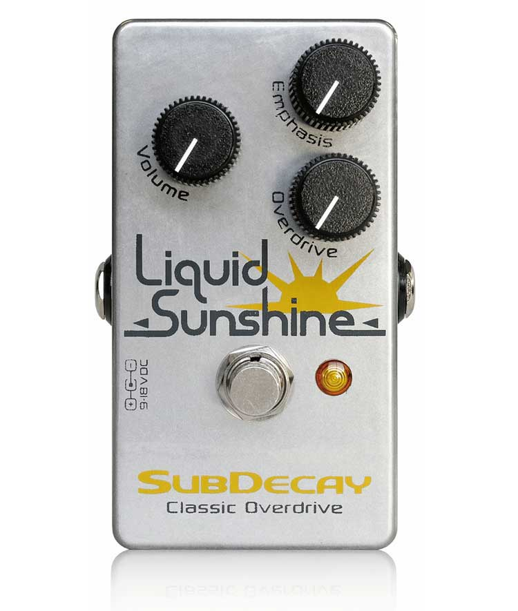 Subdecay Liquid Sunshine MkIII 新品 新品■送料無料■ オーバードライブ リキッドサンシャイン Overdrive サブディケイ Effector エフェクター メーカー再生品