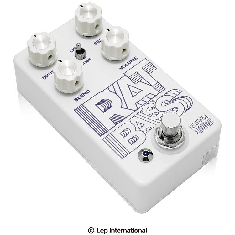 Comodoro 直送商品 RAT BASS 高品質 新品 ベース用ディストーション Effector ラット エフェクター コモドーロ