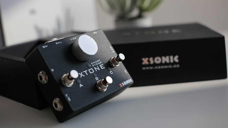 XSONIC XTONE 正規品 新品 アプリ用インターフェース Xソニック エフェクター Effector フットスイッチ エクスプレッションペダル Xトーン 公式通販