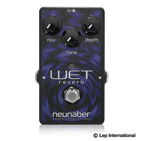 Neunaber Audio Effects Elements Wet Reverb 新品[ヌーネイバーオーディオ][エレメンツウェットリバーブ][リバーブ][Effector,エフェクター]