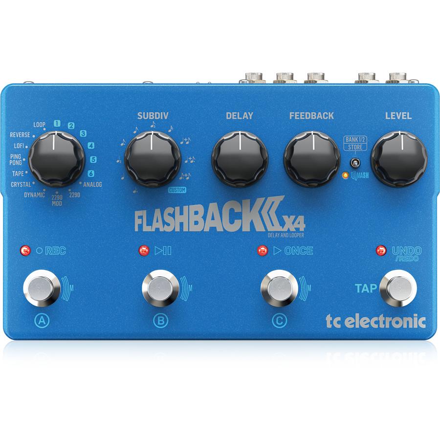 t.c.electronic FLASHBACK 2 X4 DELAY 新品 ディレイ[TCエレクトロニック][フラッシュバック][Delay][Looper,ルーパー][Effector,エフェクター]