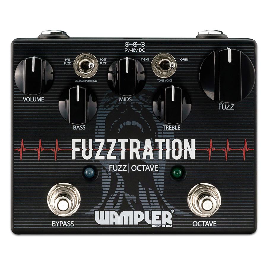 Wampler Pedals Fuzztration 新品 ファズ[ワンプラー][ファズレーション][FUZZ][Effector,エフェクター]