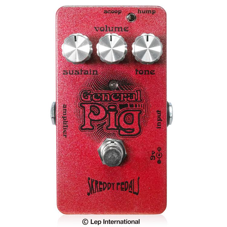 Skreddy Pedals General Pig 新品 ファズ/ディストーション[スクレディペダルズ][ジェネラルピッグ][Fuzz][Big Muffタイプ][Effector,エフェクター]
