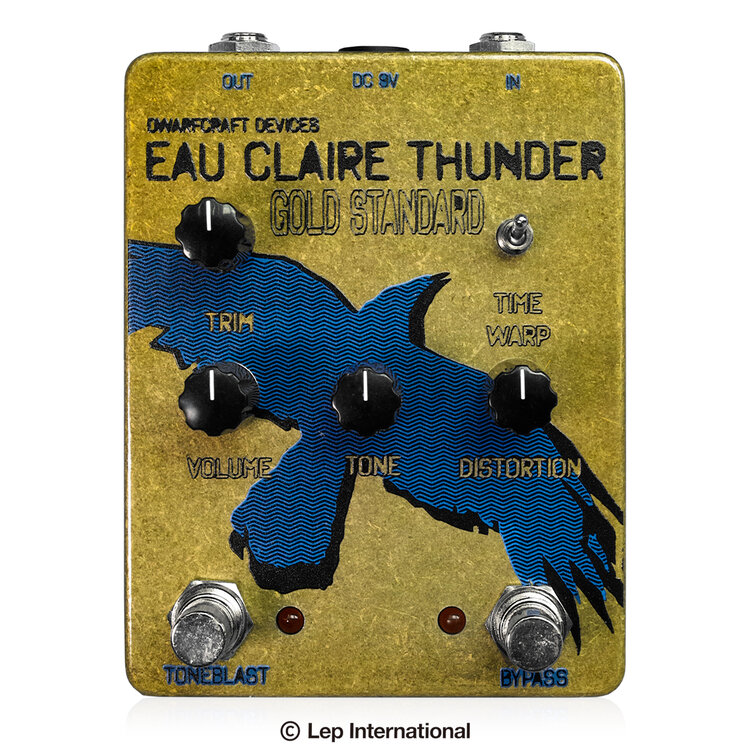 Dwarfcraft Devices Gold Standard Eau Claire Thunder 新品 ファズ[ドワーフクラフトデヴァイセズ][ゴールドスタンダードオークレアサンダー][Fuzz][Effector,エフェクター]