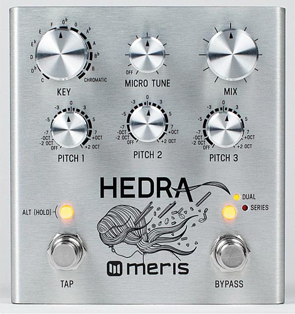 meris Hedra 新品 ピッチシフター[メリス][Delay,Chorus,ディレイ,コーラス][Effector,エフェクター]