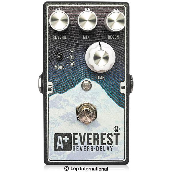 Shift Line Everest M 新品 ディレイ,リバーブ[シフトライン][エベレストエム][Delay,Reverb][Effector,エフェクター]