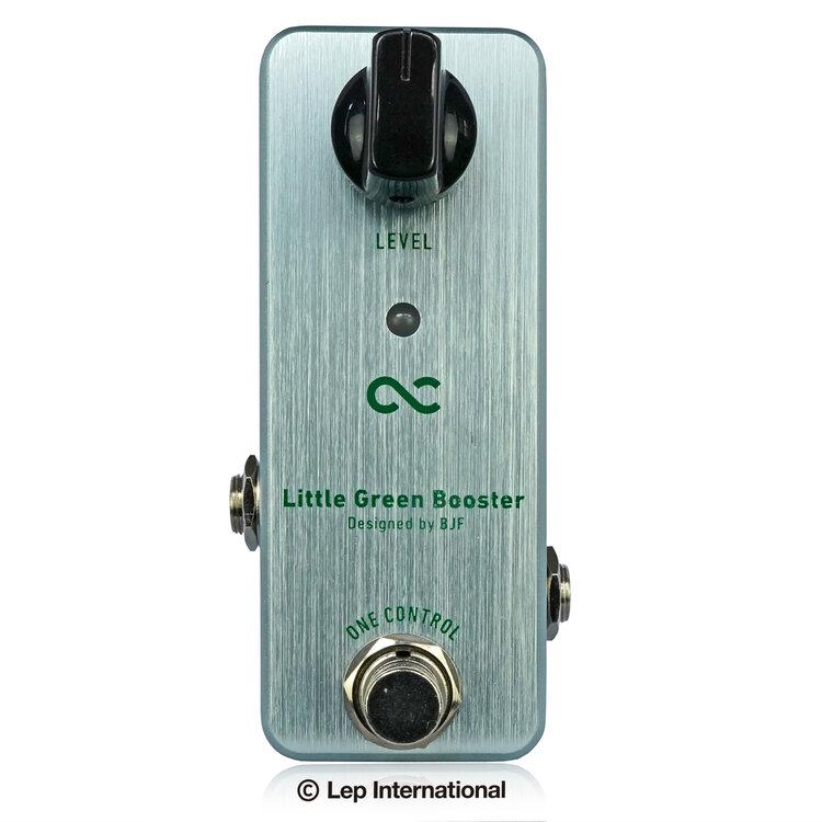 One 年中無休 アウトレット☆送料無料 Control Little Green Booster エフェクター Effector リトルグリーンブースター 新品 ワンコントロール