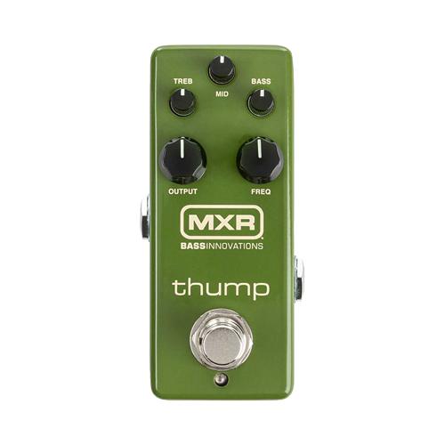 MXR M281 Thump Base Preamp 新品 ベース用イコライザー/プリアンプ[サンプベースプリアンプ][Equalizer,EQ,Preamp,][Effector,エフェクター]