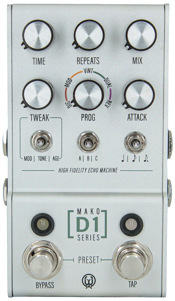 WALRUS AUDIO MAKO Series D1 High-Fidelity Stereo Delay 新品 ディレイ[ウォルラスオーディオ][Delay][Effector,エフェクター]