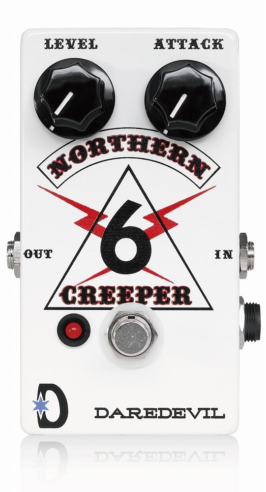 Daredevil Pedals Northern Creeper Fuzz 新品 ファズ[デアデビルペダルズ ][ノーザンクリーパー][Fuzz][Effector,エフェクター]
