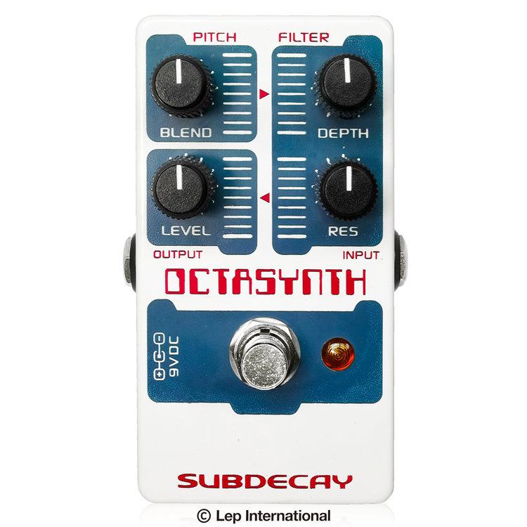 Subdecay Octasynth 新品 オクターバー[サブディケイ][オクタシンセ][Octave][Effector,エフェクター]