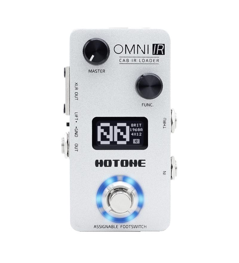 HOTONE OMNI IR 新品キャビネット シミュレーター[ホットトーン][オムニ][Cabinet Simulator][Effector,エフェクター]