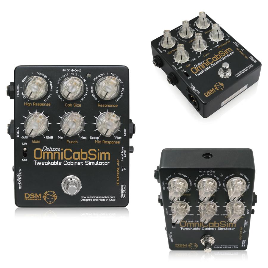 DSM Noisemaker OmniCabSim Deluxe 新品キャビネット シミュレーター[ノイズメーカー][オムニキャブシムデラックス][Cabinet][Effector,エフェクター]【used_エレキギター】