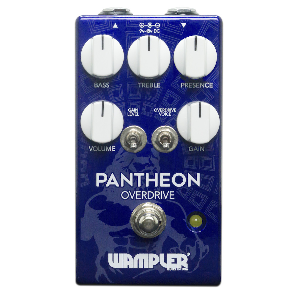 Wampler Pedals Pantheon Overdrive 新品 [ワンプラー][パンテオンオーバードライブ][Effector,エフェクター]