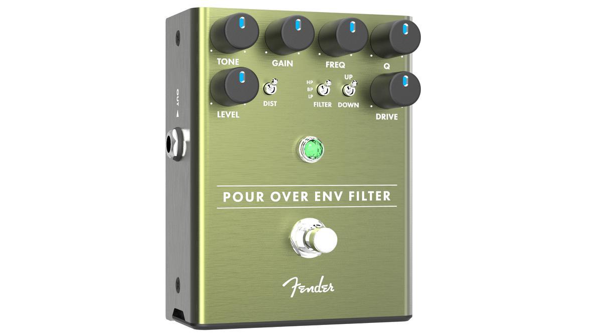 全国一律送料無料 Fender Pour Over Envelope Filter 新品 オートワウ Wah エフェクター ペダル フェンダー 安い 激安 プチプラ 高品質 エンベローブフィルター Effector