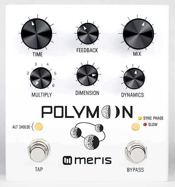 meris Polymoon 新品 ディレイ[メリス][ポリムーン][Delay,ディレイ,フランジャー][Effector,エフェクター]